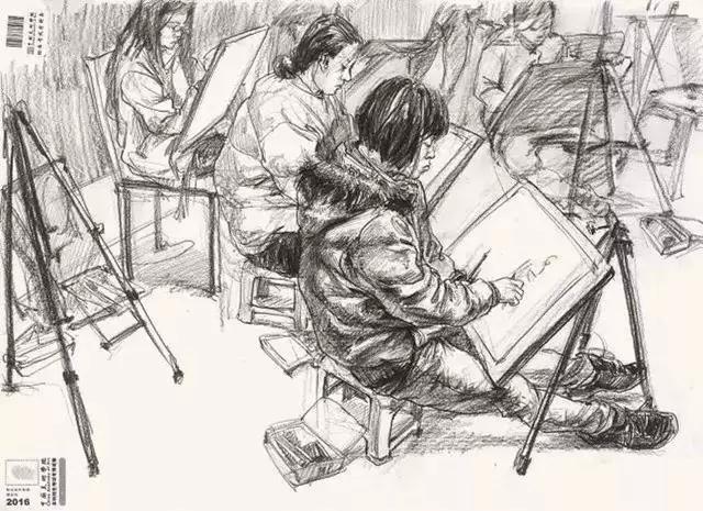 广州美术集训,美术培训画室