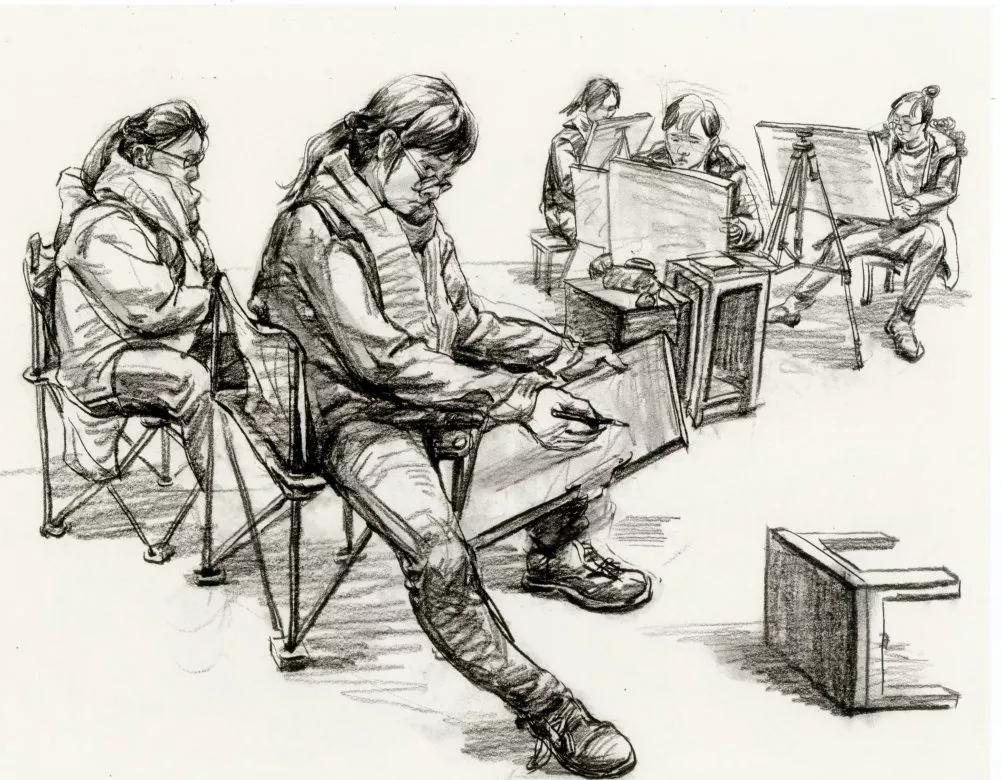 广州美术集训,广州美术画室集训