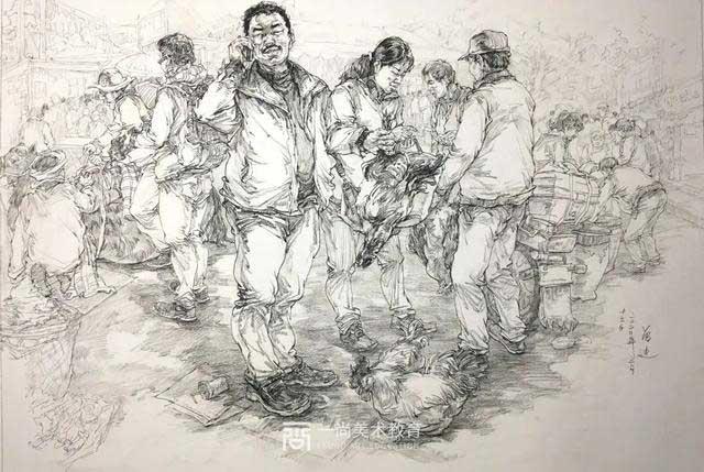 广州美术集训,美术集训