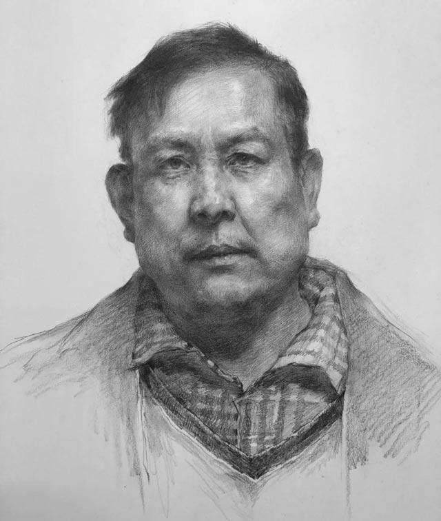 广州画室,素描头像