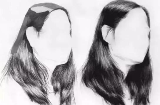 广州画室,素描头发