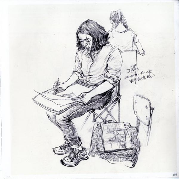 美术高考培训,速写