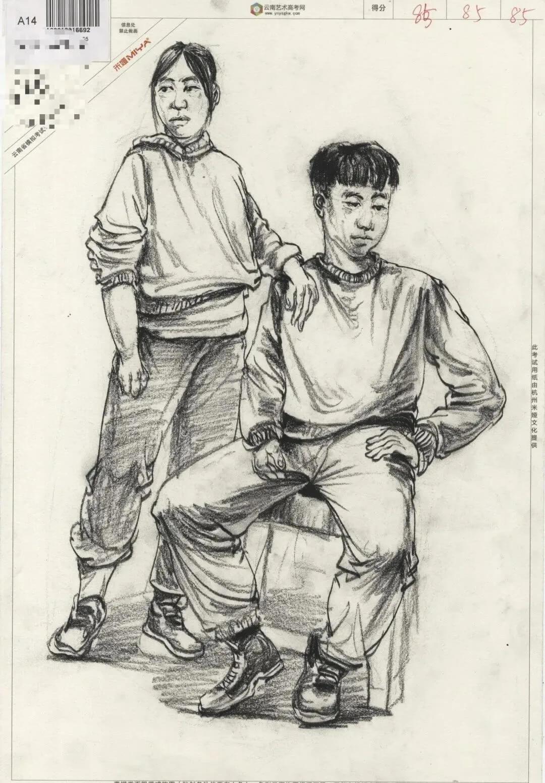 美术联考,美术模拟联考,云南省美术联考