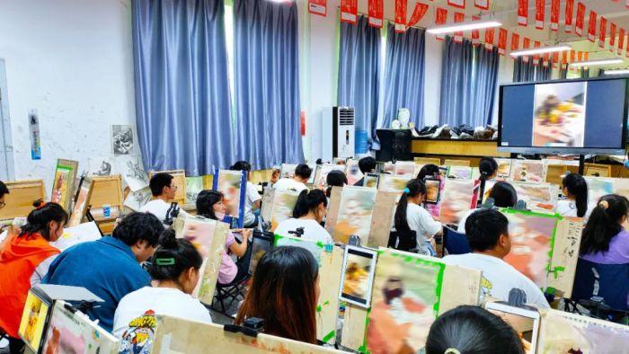 青卓畫室,美術教育