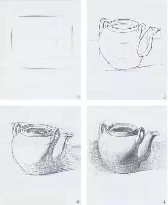 美术生素描,广州画室,美术高考画室