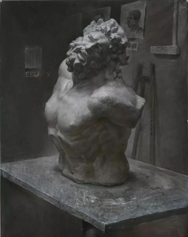 郑州画室,郑州美术高考培训,石膏人像素描
