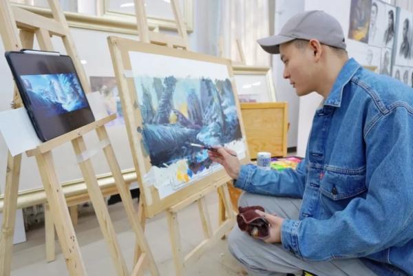 艺考画室,集训画室哪家好,艺考生分数线