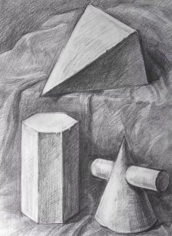 素描静物,山东画室,美术高考画室