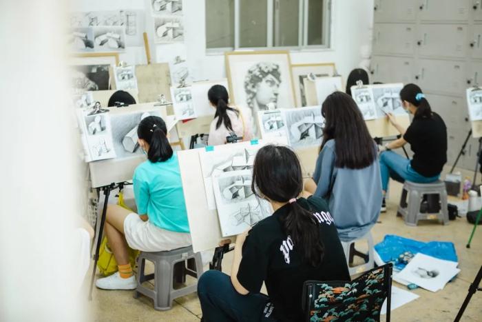 广州画室,广州一尚画室,一尚暑假班