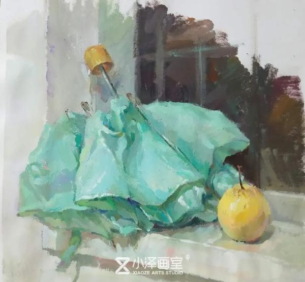 色彩靜物,北京畫室怎么選,快速提高色彩