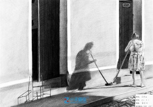 素描写生,素描怎么画,北京画室