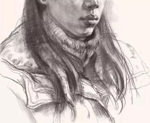 素描人物,素描人物绘画,北京画室