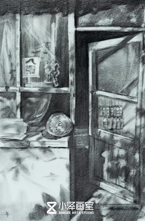 小澤畫室,美術高考培訓寫生,美術高考